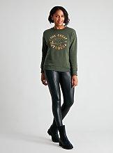 Green 'The Great Outdoors' Sweatshirt - 14