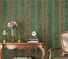 Green B Non-Woven Wallpaper 0.53x9.5 m Modern
