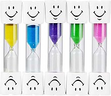 Green/Blue/Pink/Purple/Yellow Hourglass Timer for