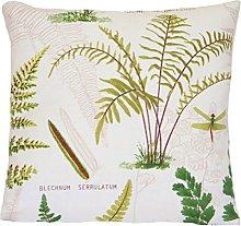 Green Botanical Plants 2 Cushion Covers Ivy & Fern