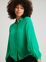 Green Button Through Shirt - 8