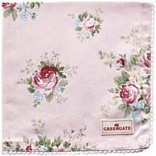 Green Gate - Pale Pink Cotton Aurelia Napkin