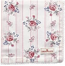 Green Gate - Pale Pink Cotton Fiona Napkin