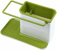 Green/gray Kitchen Sponge Drainage Rack