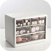 Green HX Marble Makeup Organizer | Desktop Drawer