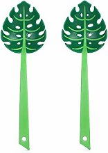 Green Leaf Colander,Leaf Jungle Spoon,Turtle Back