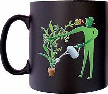 Green Man Gardener with Plant Garden Pot Klassek