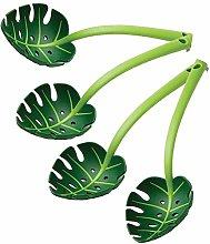 Green Monstera Leaf Colander, Creative Green Leaf,