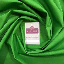 Green Plain Poly Cotton Fabric - Dress Craft 44