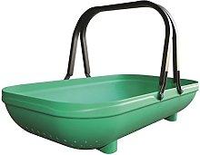 Green Plastic Small Large Colander Trug Sieve
