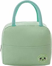 Green Reusable Insulated Lunch Bags for