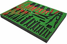 Green Shadow Foam Original - Tool Organiser - Snap
