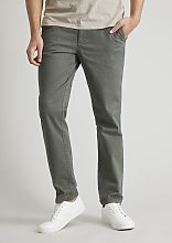 Green Slim Fit Chinos With Stretch - W40 L30