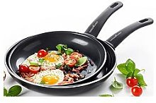 Greenchef Soft Grip Frying Pan Twin Pack