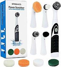 Greenco Power Scrubber with 4 Brush Attachment