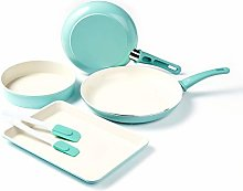 GreenLife CC001578-001 Cookware and Bakeware Set,