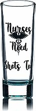 Greenline Goods Shot Glass Nurses Gifts -