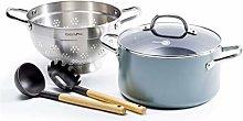 GreenPan Cookware Steamer Set, 5-Piece Set