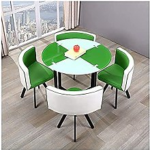 greenRound Dining Table and Chair Set Home Dining