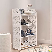 GREENSEN 4 Tiers Freestanding Shoe Rack Waterproof