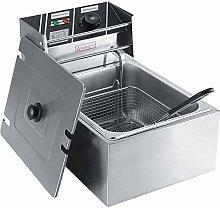 Greensen 6L Stainless Steel Deep Fat Fryer,