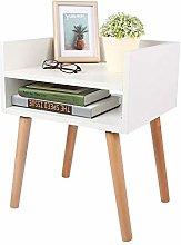 Greensen Bedside Table - Nightstand Cabinet