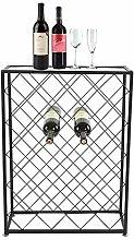 Greensen Bottle Rack Wine Rack Metal Wine Cabinet