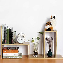 Greensen Desk shelf desktop storage shelf wooden