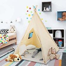 Greensen Kids Play Tent, Natural Cotton Canvas