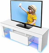 Greensen LED TV Stand Cabinet Unit Modern TV Desk