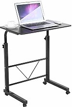 Greensen Overbed Table Small Computer Desk Movable