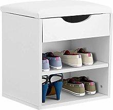 Greensen Shoe Bench Storage, Shoe Storage with