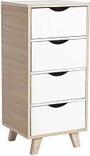 Greensen Sideboard Storage Cabinet Wooden Bathroom