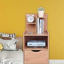 Greensen White Bedside Table Bedside Cabinet Wood