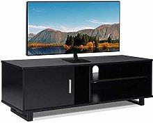 Greensen Wood TV Stand Storage Console, Adjustable