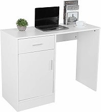 Greensen Writing-Computer Desk with Keyboard Tray