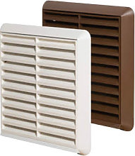 Greenwood Airvac External Grille & Spigot Brown