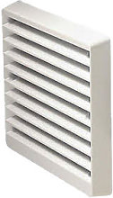 Greenwood Airvac External Grille White
