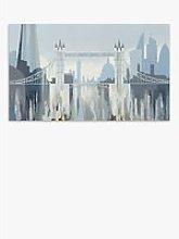Gregory Lang - Tower Bridge Canvas Print, 60 x