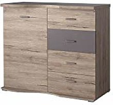 GRENA Chest of Drawers Modern Storage Cabinet with
