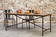 Grenelle rustic dining table