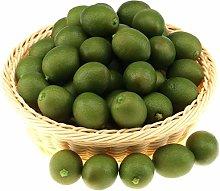 Gresorth 20 PCS MINI Fake Green Lemon Artificial