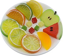 Gresorth Premium Artificial Fruit Slice Fake Lemon