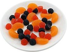 Gresorth Premium Artificial Fruit Slice Fake