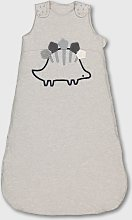 Grey 2.5 Tog Dinosaur Sleeping Bag - 18-24 months