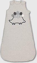 Grey 2.5 Tog Dinosaur Sleeping Bag - 6-12 months