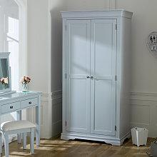 Grey 2 Door Wardrobe - Newbury Grey Range