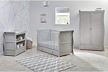 Grey 3 Piece Nursery Furniture Set - East Coast