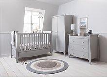 Grey 3 Piece Nursery Furniture Set - Tutti Bambini