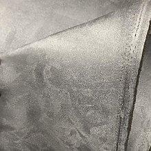 Grey 5MM Foam Backed Suede Fabric Scrim Foam